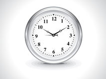 Abstract wall clock Stock Image