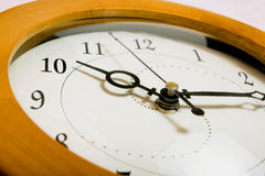 Abstract wall clock Stock Photography