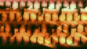 Abstract wall computer generated. Abstract background with two walls that superpose under the reflection of warm light Vector Illustration