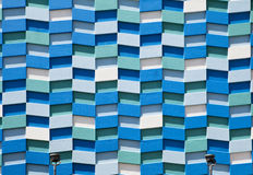 Abstract Wall Facade Royalty Free Stock Photos