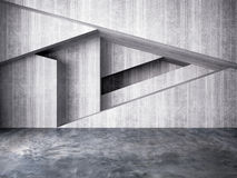 Abstract wall of interior background Stock Image
