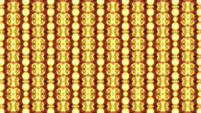 Abstract Wall of Lights stock footage