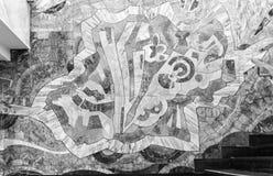 Abstract Wall Mosaic Stock Image