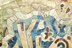 Abstract Wall Mosaic Stock Photography