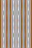 Abstract Wallpaper. A digitally generated image looking much like wallpaper in stripes and elongated diamonds Royalty Free Stock Images