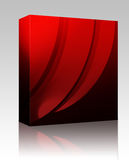 Abstract wallpaper background box package Stock Image