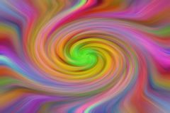 Colorful spiral lines royalty free stock photo