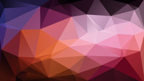 Abstract wallpaper. Abstract colorful geometric wallpaper consists of triangles Royalty Free Stock Image