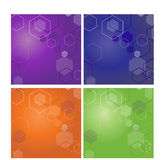 Abstract Wallpaper. Abstract Cube Vector illustrated wallpaper Stock Image