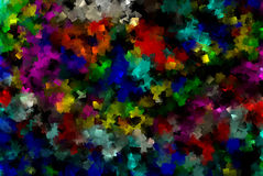 Abstract wallpaper cubes. Multi color abstract wallpaper cubes background Royalty Free Stock Photography