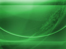 Abstract wallpaper in green Royalty Free Stock Images