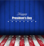 Abstract Wallpaper for Happy Presidents Day of USA Royalty Free Stock Photos