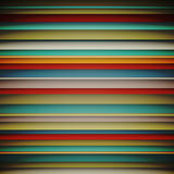 Abstract wallpaper with horizontal lines colorful pattern vintage. Retro background, Vector illustration Royalty Free Stock Image