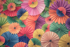 Abstract wallpaper rainbow colorless paper background Stock Images