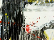 Abstract wallpaper, texture, hand painted background. Of close-up fragment of acrylic painting on canvas with brush strokes stock photos
