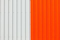 Abstract warehouse wall exterior Stock Photo