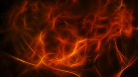 Abstract warm background with soft flames Royalty Free Stock Photo