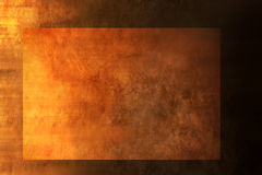 Abstract Warm Gold Background. A warm Brown painted background with two layers Stock Photos