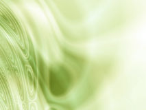 Abstract warm green light waves Royalty Free Stock Images