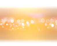Abstract warm yellow background. Motion blur Royalty Free Stock Images