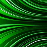 Abstract warped green stripes colorful background Royalty Free Stock Image