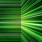 Abstract warped green stripes colorful background Royalty Free Stock Photo