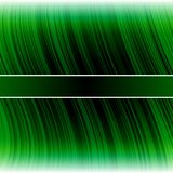 Abstract warped green stripes colorful background Royalty Free Stock Photos