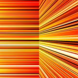 Abstract warped orange and yellow stripes Royalty Free Stock Images