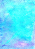 Abstract wash drawing artistic handmade blue  background.  Aguac Stock Photography
