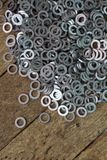 Abstract washer spare part Stock Photos