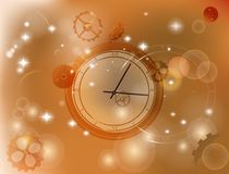 Abstract watch 111. Abstract time background. Vector. Can be use as banner also royalty free illustration