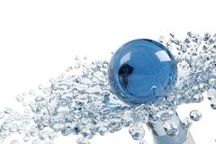 Abstract water Royalty-vrije Stock Afbeelding