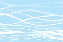 Abstract water als achtergrond in zwembad zachte blauw en wit Royalty-vrije Stock Foto's