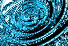 Abstract water background. Generated by the computer Stock Photography