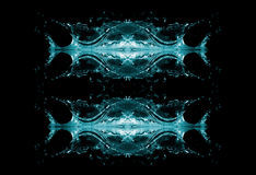 Abstract Water Background. Abstract background of water over black Royalty Free Stock Image