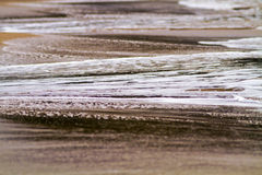 Abstract Water on a Beach Royalty Free Stock Image