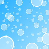 Abstract water bubble illustration Royalty Free Stock Image