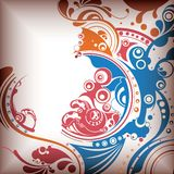 Abstract Water Bubbles 2. Illustration of Abstract Water Bubbles Background