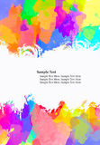 Abstract water color Royalty Free Stock Photography