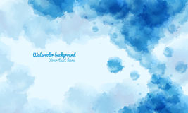 Abstract water color background , with space for the text Stock Images