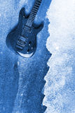 Abstract Water Color Guitar Background Royalty Free Stock Image