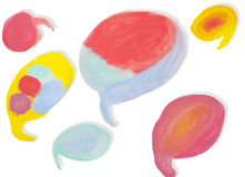Abstract Water Color Paint Royalty Free Stock Photography