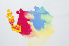 Abstract Water Color Paint Texture Stock Photo