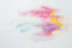 Abstract Water Color Paint Texture Royalty Free Stock Image