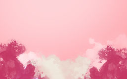 Abstract Water Color,Pink paint. Abstract Water Color,Pink paint Royalty Free Stock Image