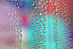 Abstract water drops background. Shallow DOF Stock Image