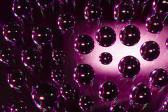 Abstract water drops Royalty Free Stock Image