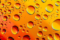 Abstract Water Drops Macro Backgrounds Royalty Free Stock Image
