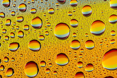 Abstract Water Drops Macro Backgrounds Royalty Free Stock Photography
