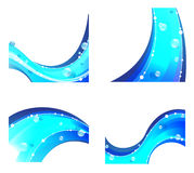 Abstract water elements Royalty Free Stock Photo